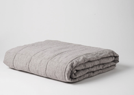 Citta Sove Chambray Linen Quilted Blanket Ash 200x200