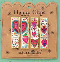 Natural Life 4 Hearts Happy Chip Clip