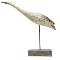 French Country Gliding Heron D'cor Large 50cmLx8cmWx46.5cmH