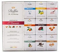 Dolfin 27 piece Assorted Mixed 10g Chocolate Bars