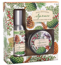 Michel Spruce Room Spray & Candle Set