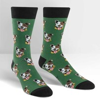 Sock it to Me Go Fetch Mens Crew Socks