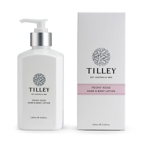 Tilley Peony Rose Body Lotion - 400ml