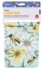 IS Bees Paper Lunch Bag