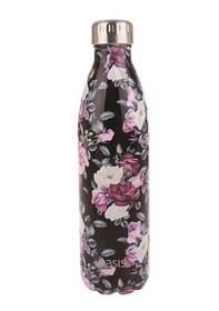 Oasis S/SInsulated Drink Bottle - Midnight Floral 750ml