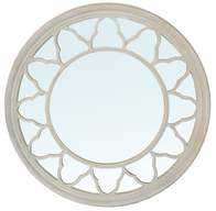 French Country Nova Round Mirror 110cmDia