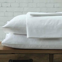 MM Linen Maddon Pillowcover Set - White Standard