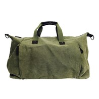 Moana Road Marlborough Olive Overnight Bag