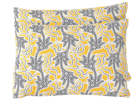 Lazybones Filigree Pillowcases - Marigold Set of 2
