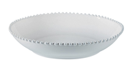 Costa Nova Pearl Bowl White 34cm
