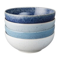 Denby Studio Blue Cereal Bowl 4 pce 21cm