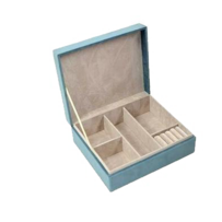 Annabel Trends Large Jewellery Box - Teal 220x80x185cm