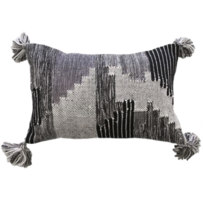 Furtex Keita Cushion Grey/Charcoal 35x50cm