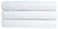 Christy Brixton Towel Collection - White