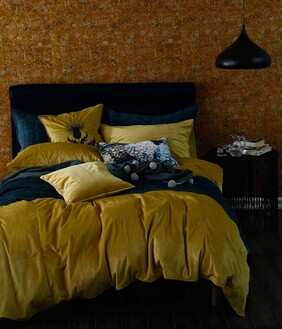 MM Linen Velvet Duvet Set - Raffia King