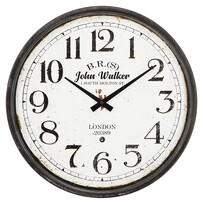 Kerridge John Walker Iron Wall Clock 390mm Dia