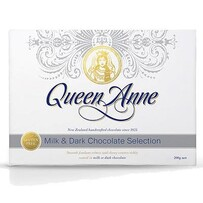 Queen Anne Milk & Dark Selection Chocolates 200g