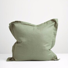 Thread Linen P'case - Sage Green Euro