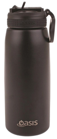 Oasis S/S Insulated Sports Bottle with Straw
