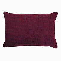 Madras Wembley Velvet Cushion Wine Melange 40x60cm