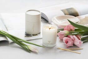 Living Light Night Bloom Soy Candle - Mini 30hrs