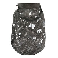 Le Forge Geneva Lantern - Black Large