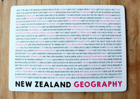 Moana Road NZ Quiz Placemats - Set of 6