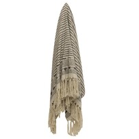 French Country Helsen Striped Throw 125x150cm