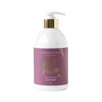 Living Light Wild Plum Hand & Body Lotion - 400ml