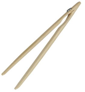 Avanti Bamboo Toast Tongs