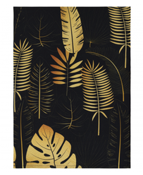 Linens & More Botanical Teatowel - Gold 50x70cm