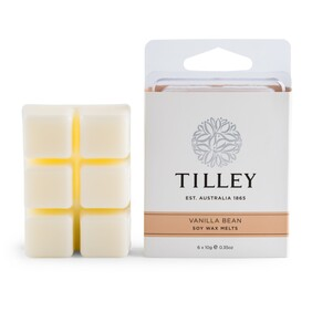 Tilley Vanilla Bean Soy Wax Melts - 6x10g