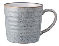Denby Studio Grey Ridged Mug - 400ml