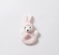 Citta Essentials Rabbit Rattle Pink