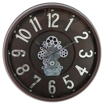 Kerridge Inside Out Iron Wall Clock 615mm Dia
