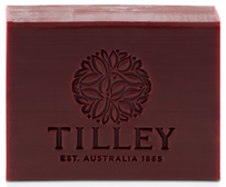 Tilley Pomegranate Pure Vegetable Soap - 100g