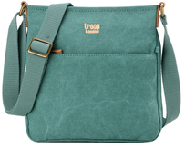 Troop Classic Zip Top Shoulder Bag Turquoise Small