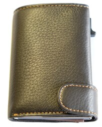 Tony Perotti Cervo Leather Smart Wallet Brown