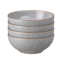 Denby Studio Grey Cereal Bowl 4 pce 17cm