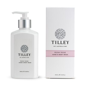 Tilley Peony Rose Body Wash - 400ml