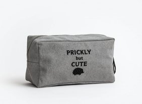 Stella & Gemma Prickly But Cute Toilet Bag - Denim