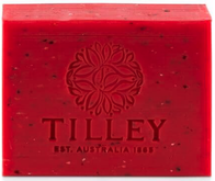 Tilley Strawberry & Oatmeal Pure Vegetable Soap 100g