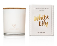 Living Light White Lily Soy Candle