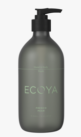 Ecoya French Pear Hand & Body Wash - 450ml