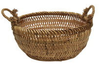French Country Fishermans Basket Small 39x39x25cmH