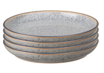 Denby Studio Grey Medium Plate 4 pce 21cm