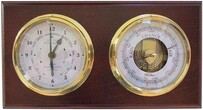 Fischer Mahogany Time Tide & Barometer