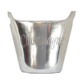 French Country Oval Champagne Bucket Lge - Silver Plated