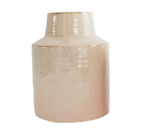 Urban Products Speckle Pink/Gold Vase 16cm