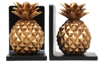 Christiana Pineapple Bookends 17cm